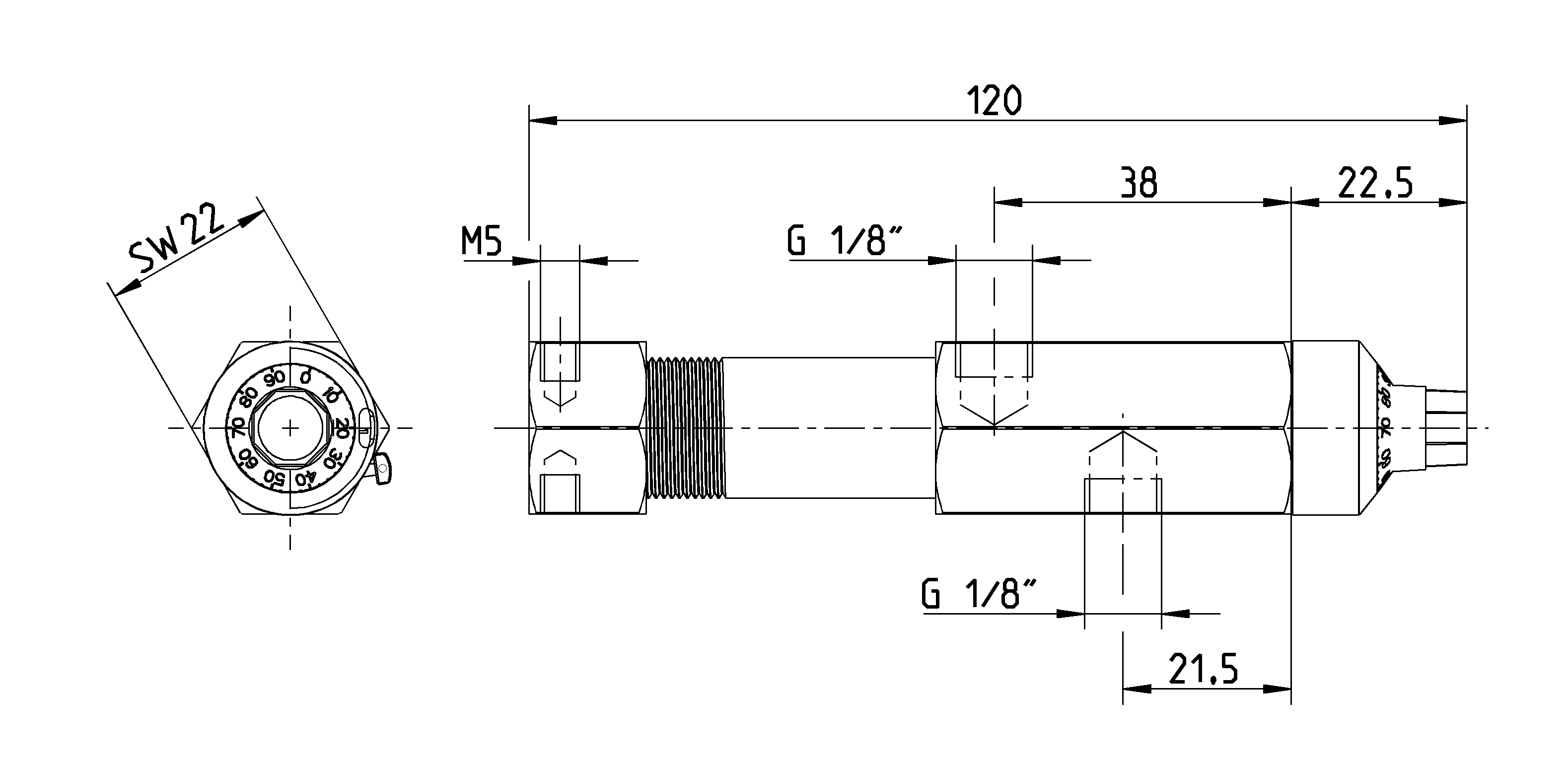 installation dimensions of dosing pump