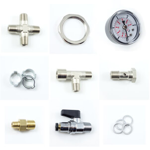 fittings for hydraulic and pneumatic systems