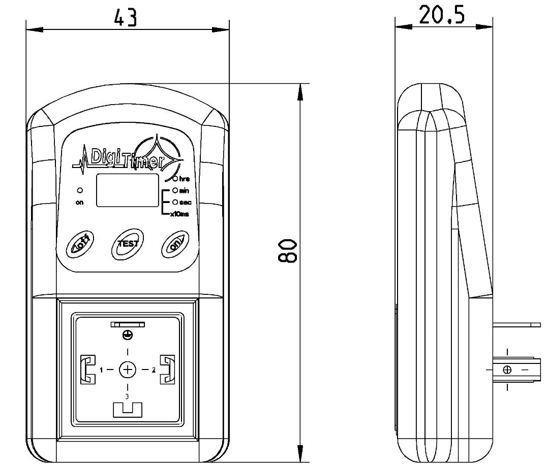 Magentventil Zeitsteuerung Typ D-LUX