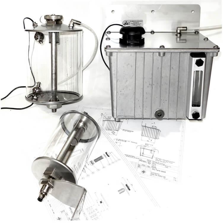 Ölbehälter Varianten