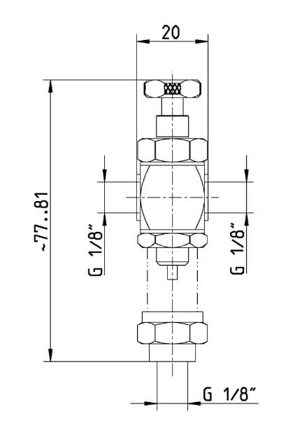 dimensions of oil drip feeder
