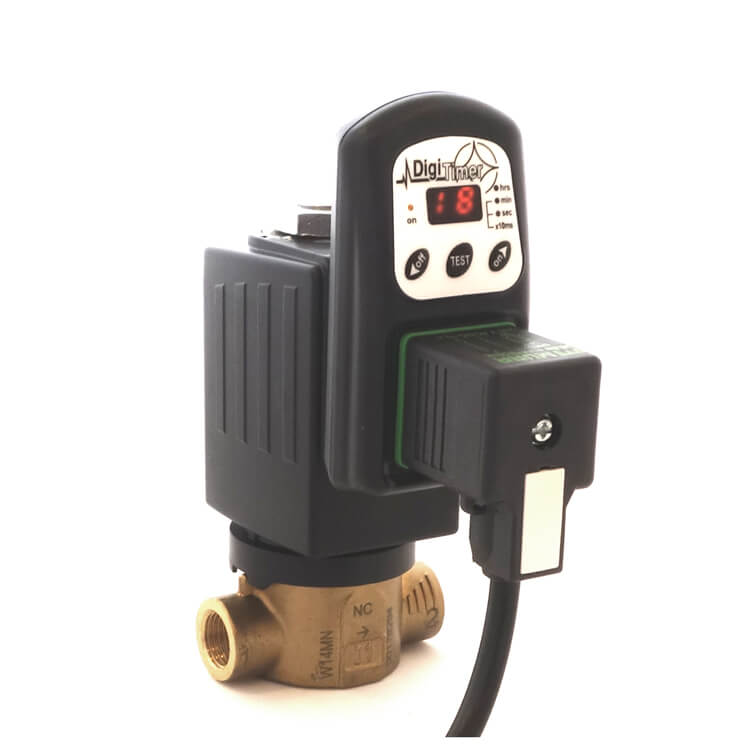 timer clock or timer switch for any valve