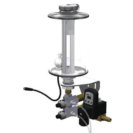 Metering Pump with adjustable displacement-volume
