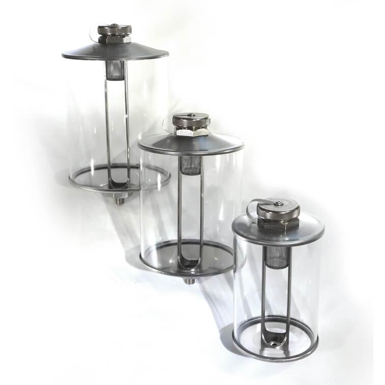 Rostfreier Vorratsbehälter oder Ölbehälter für Schmieranlagen