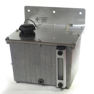 Alu-Vorratsbehälter oder Ölbehälter