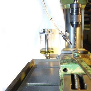 Venturidüsen zur Minimalmengenschmierung Bohrmaschine