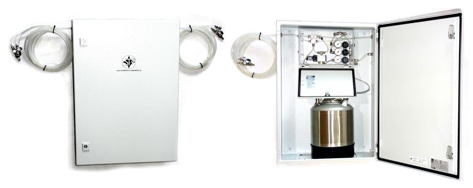 Drucksprühgerät als Minimalmengenschmierung