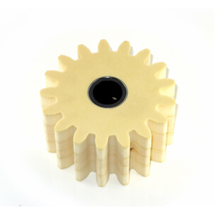 Lubrication pinion ore grease gear