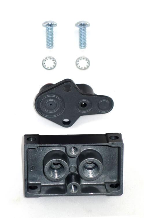 Montageplatte für Minimalmengenschmierung