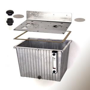 Aluminiowy pojemnik na olej smarowy