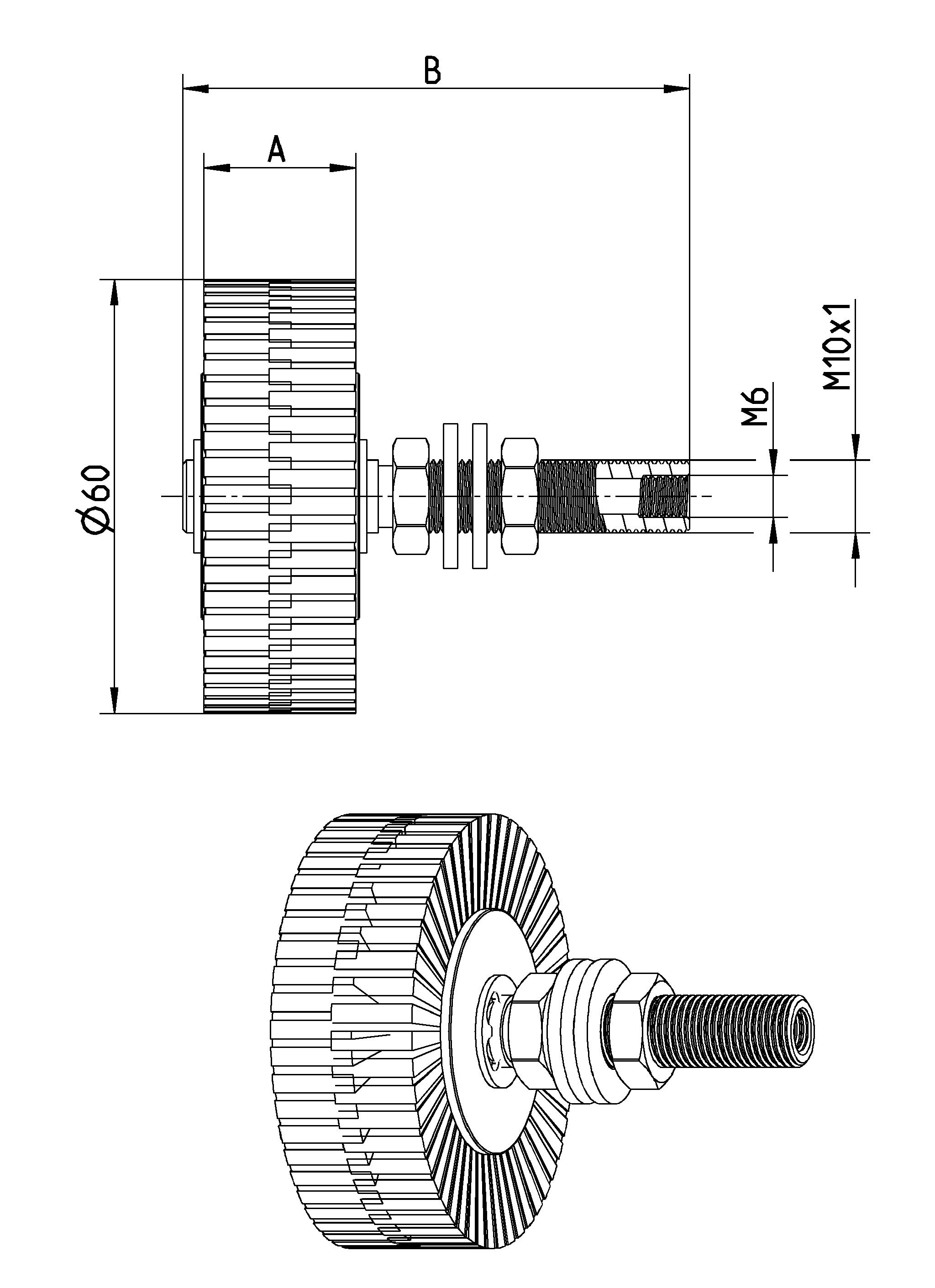 Rollen Schmierpinsel oder Ölpinsel